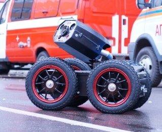 Роботизация пожаротушения в России